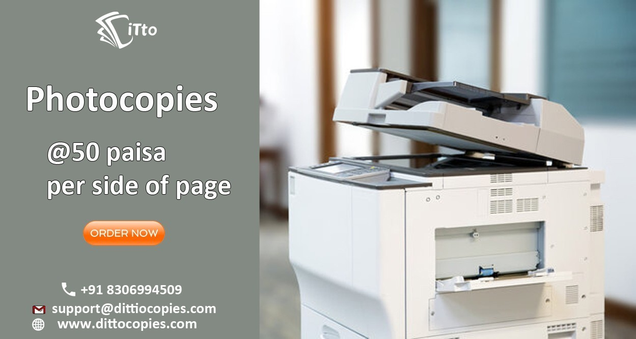 Custom color printing and photocopy shop in Jaipur